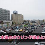 栃木県で遊べるボウリング場施設まとめ